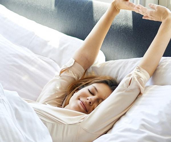 A good night's sleep...